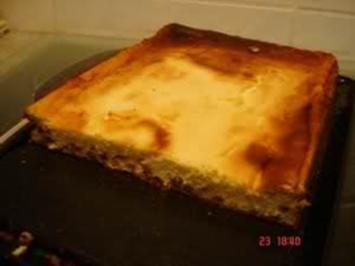 Rosienen - Quark - Kuchen vom Blech - Rezept