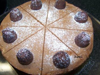 Schokoladentörtchen mit einem Hauch von Trüffel und Aprico - Rezept