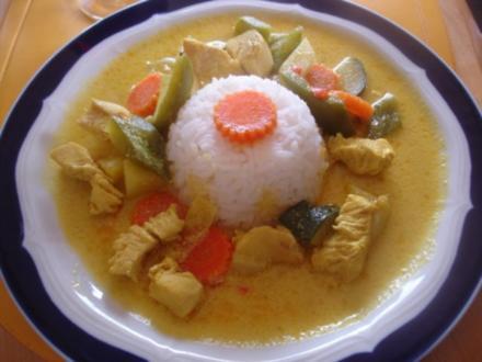 Indisches Chicken Curry à la Papa - Rezept