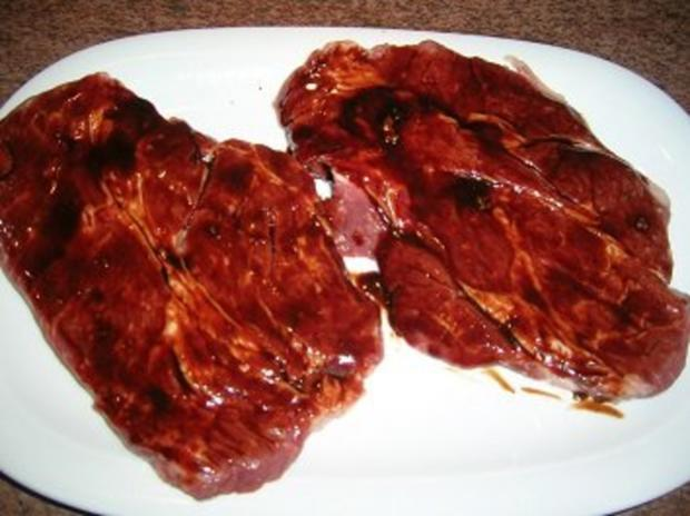 Chuck Eye Steak die 2te Variante, eingelegt und nur mit Spargel - Rezept - Bild Nr. 3