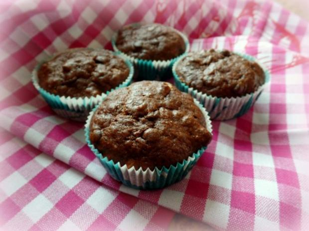 Bananen-Schoko-Tonkabohnen-Muffins - Rezept