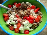 Thunfisch-Bohnen-Ebly-Salat - Rezept