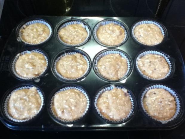Bananen-Pekannuss Muffins - Rezept - Bild Nr. 5