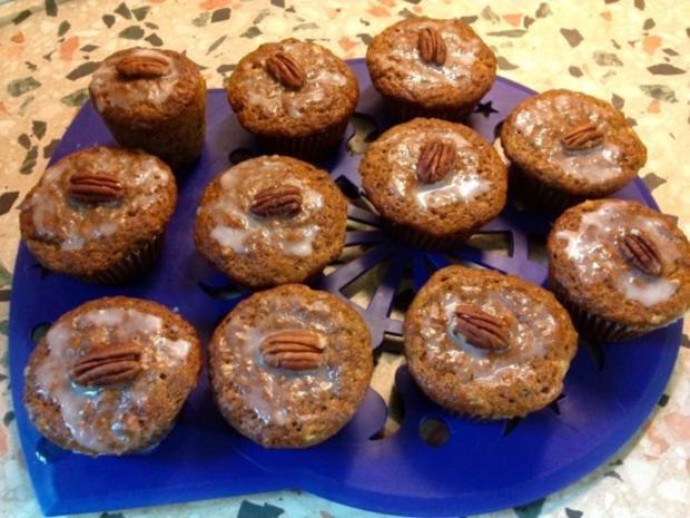 Bananen-Pekannuss Muffins - Rezept - Bild Nr. 6