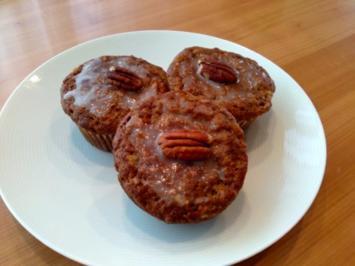 Bananen-Pekannuss Muffins - Rezept