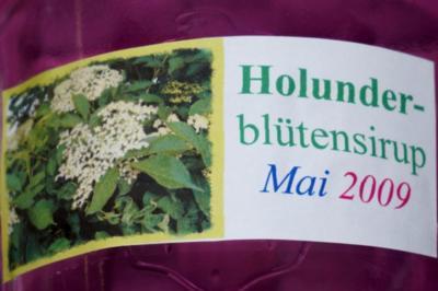 Holunderblütensirup 2009 - Rezept