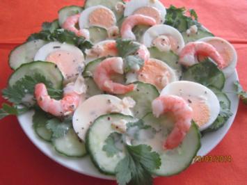Gurkensalat Royal - Rezept