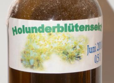 Rezept: Holunderblütensekt 2010