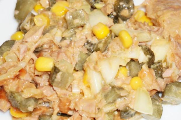 Schneller Thunfischsalat + Mayonnaise - Rezept