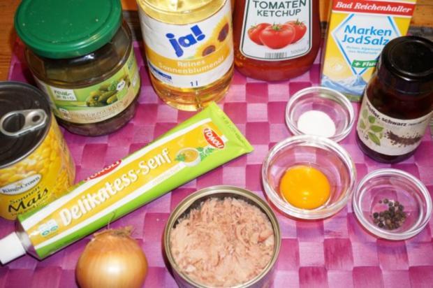 Schneller Thunfischsalat + Mayonnaise - Rezept - Bild Nr. 2