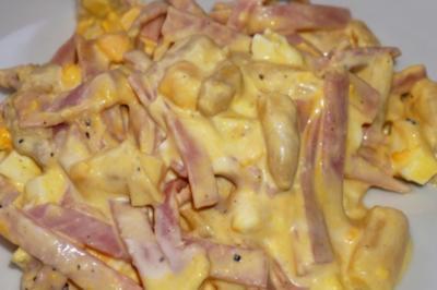 Schinken-Spargel-Ei Salat - Rezept