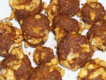 Frittierte Mettbällchen mit Käse - Rezept
