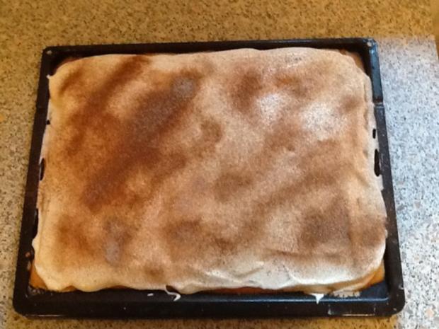 Mandarinenkuchen auf dem Backblech - Rezept