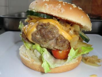 Rezept: Mein Burger