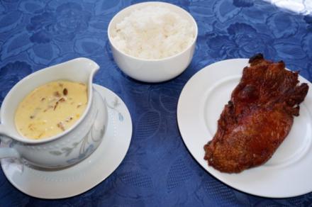 Ente mit Orangen-Pfifferling-Sahne Sauce - Rezept