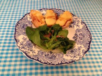 Fromage de Herve auf Feldsalat mit Delice de Liège - Rezept