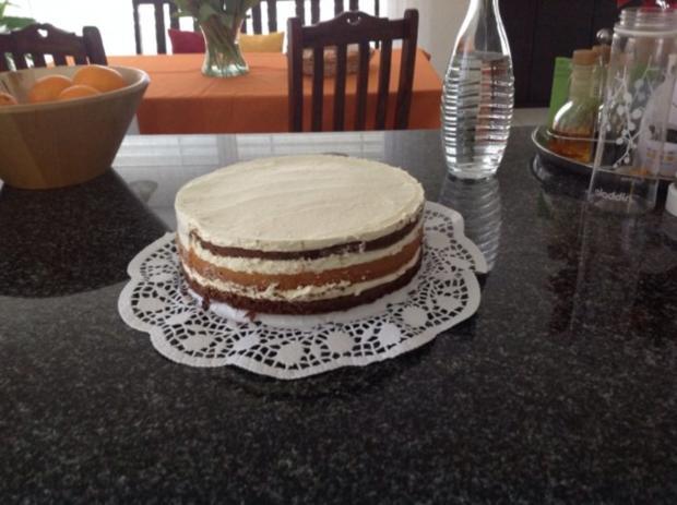 Drei - Tage - Torte mit Himbeeren - Rezept - Bild Nr. 2
