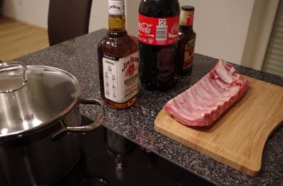 Rezept: Whiskey Cola Spare Ribs