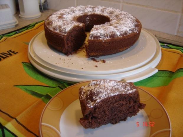 Gekochter Schokoladenkuchen - Rezept