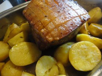 Kartoffel Bratl - Rezept