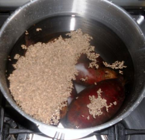 "Rote - Beete - Salat à la ""Oòrndrasch"" (Rzpt. um 1977) - Rezept - Bild Nr. 7"