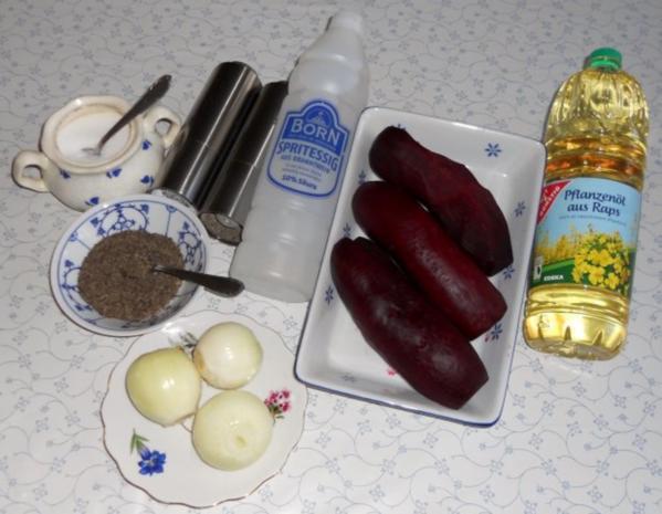 "Rote - Beete - Salat à la ""Oòrndrasch"" (Rzpt. um 1977) - Rezept - Bild Nr. 16"