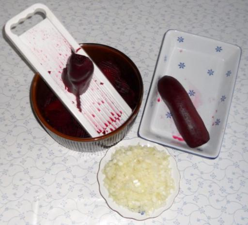 "Rote - Beete - Salat à la ""Oòrndrasch"" (Rzpt. um 1977) - Rezept - Bild Nr. 17"
