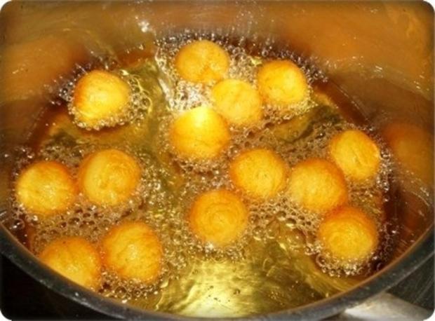 Schweinekotelett mit Kartoffelbällchen und Paprikasalat - Rezept - Bild Nr. 15