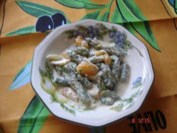 Spargel-Schichtsalat - Rezept