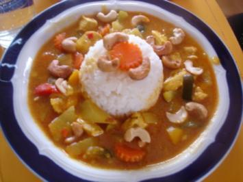 Indisches Chicken Curry II à la Papa - Rezept