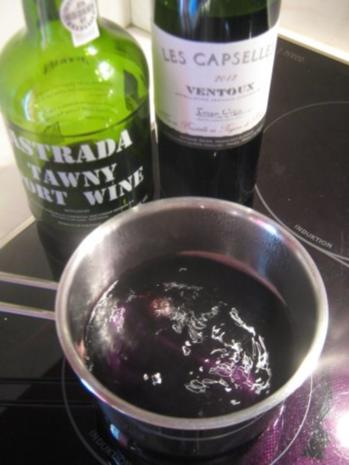 Rotweinbutter - Rezept - Bild Nr. 2