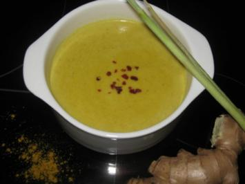 Kokos-Curry-Suppe - Rezept