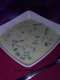 Hackfleisch Käse Lauch Suppe - Rezept