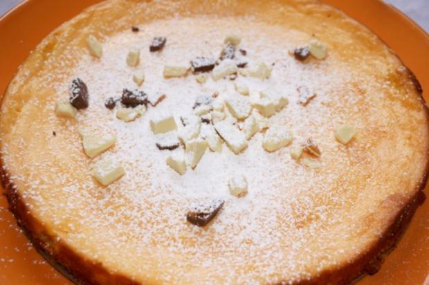 Cheesecake Snowy Summits - Käsekuchen für Bergsteiger - Rezept
