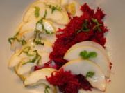 Rote Bete - Birnen - Salat - Rezept