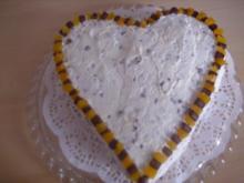 Aprikosen-Stracciatella Torte - Rezept