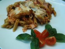 Zucchini-Nudel-Auflauf - Rezept