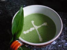 Suppe: Bärlauchsüppchen - Rezept