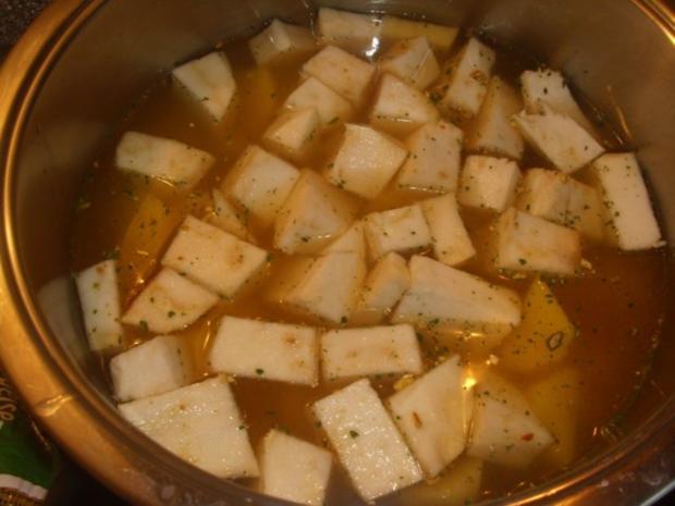 Kartoffel Sellerie Suppe - Rezept - Bild Nr. 2