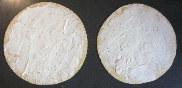 Wraps mit Lachs und Käse/Schinken - Rezept - Bild Nr. 2