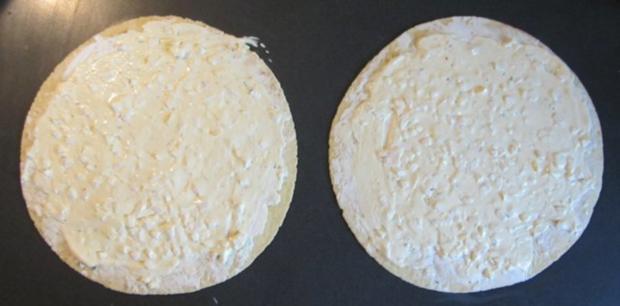 Wraps mit Lachs und Käse/Schinken - Rezept - Bild Nr. 3