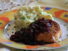 Back-Camembert mit Cranberrie-Chutney - Rezept
