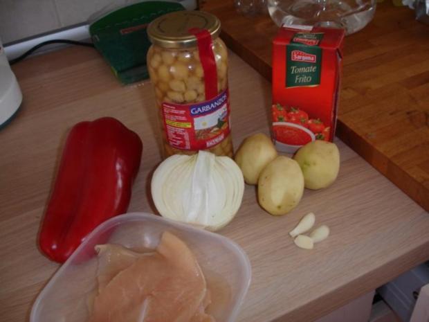 Ropa vieja / Kanarischer Kichererbsen-Eintopf - Rezept