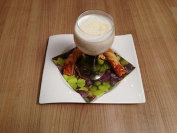 Müller-Thurgau-Suppe mit Käsestängli - Rezept
