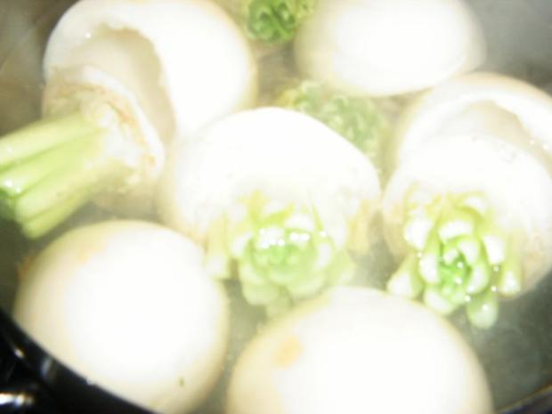 Gefüllte Mairübchen mit Putengeschnetzelten - Rezept - Bild Nr. 5