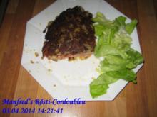 Kartoffel – Manfred's Rösti-Cordonbleu - Rezept
