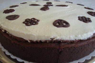 Mississippi Mud Pie.   Die 2. Version - Rezept