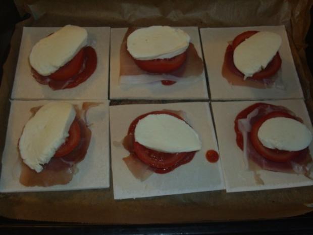 Blätterteigpizza - Rezept - Bild Nr. 3