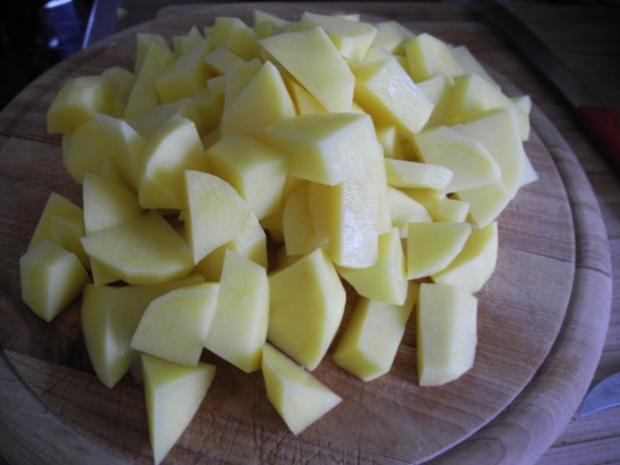 Vegan : Schnelle Erbsensuppe - Rezept - Bild Nr. 5
