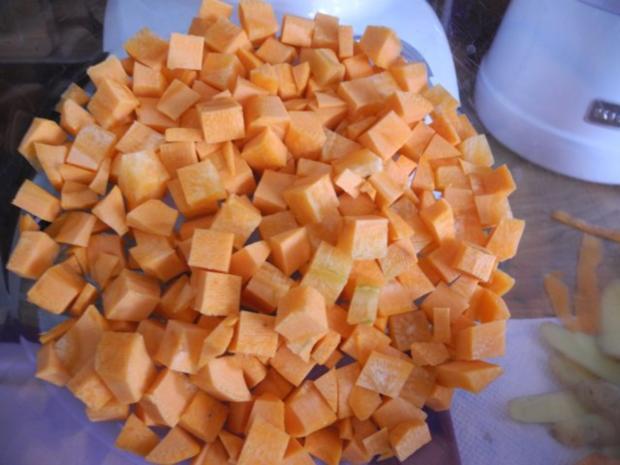 Vegan : Schnelle Erbsensuppe - Rezept - Bild Nr. 7